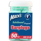 Mack's Original Soft Foam Plugs - 50 Pair Jar